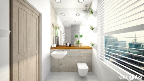 Compact - Bathroom - by DMLights-user-997613