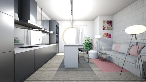 Pink is better - Modern - Kitchen - by TeodoraYord