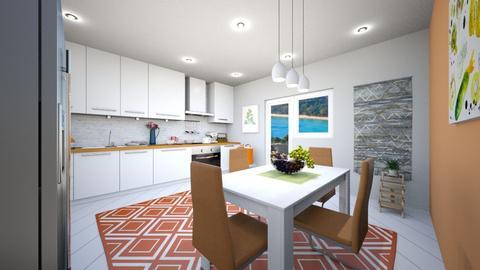 bucatarie 2 - Modern - Kitchen - by Vasile Bianca Rozalia