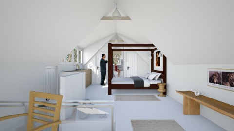 Marlboro Garret Suite 2 - Eclectic - Bedroom - by russ