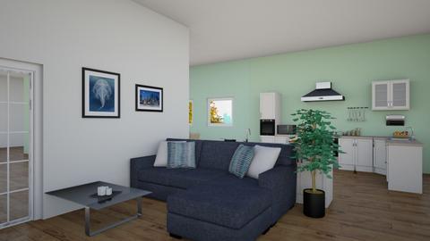 sunshine home 3 - Modern - Living room - by mag47