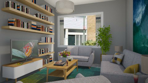 For Vincent 1 - Eclectic - Living room - by Theadora
