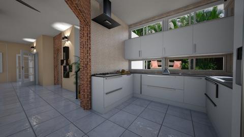 Village Clarissa - Modern - Kitchen - by Mariesse Paim