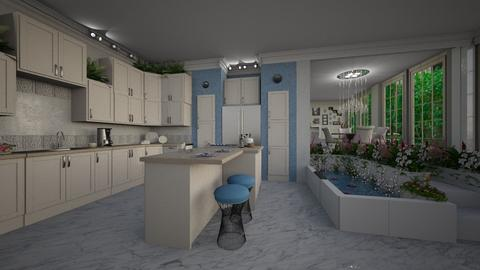 Urban Jungle Kitchen - Kitchen - by ElleP