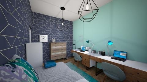 Slaapkamer design 1 - Modern - Bedroom - by PuppyPowerGO