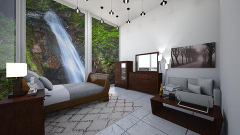 waterfall bedroom - Bedroom - by octopus1217