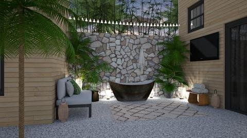 Outdoor Bath - Garden - by lovedsign