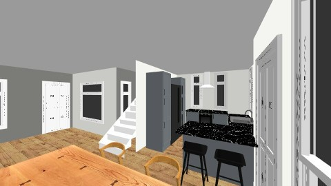 Bubu House - Minimal - Living room - by deanasor
