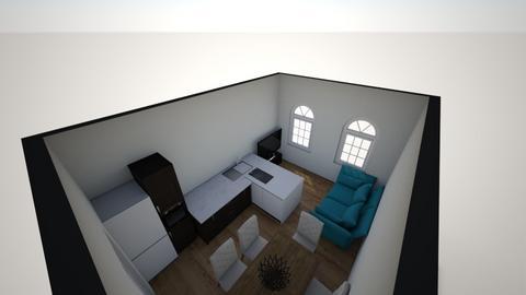 salon - Living room - by explorerxxx