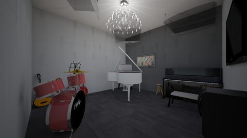 IndoorHomeMusicRoomModern - Modern - Office - by jade1111