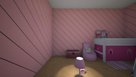 Emmelie - Kids room - by Roomstylergirlyyyy