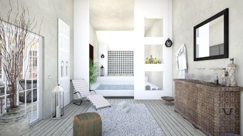 Horizons lointains II Bathroom - by Artichoses