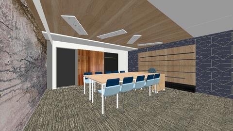Birou CCIBV_split perete - Office - by IoanaC