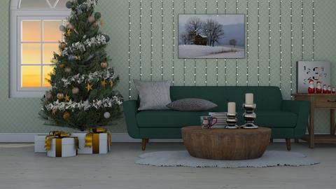 Cozy Christmas Livingroom - Living room - by Carolina_meee