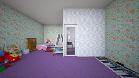 Little Girls Room - Kids room - by ReeseS10
