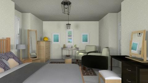 Attic room  - Bedroom - by wafa