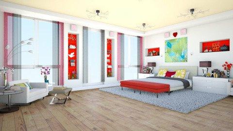 bedroom - Bedroom - by teffy