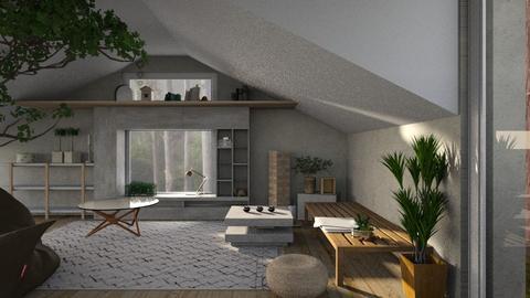 green attic - Minimal - Living room - by jjannnii
