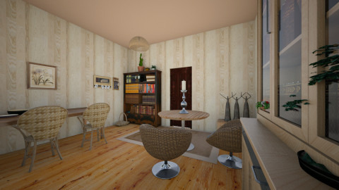 Living room - Retro - Living room - by linnda123222