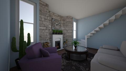 Clock Room - Living room - by Elisheva2