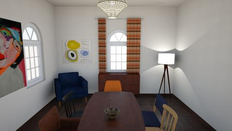 House - Vintage - Living room - by kasiabuduje