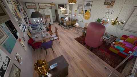 Batsheva Tearoom - Vintage - by abbeywiggam