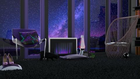 Nightfall - Modern - Living room - by InteriorDesigner111