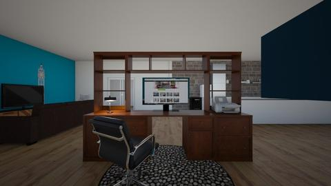 dream home - Office - by w0lfp0wer99