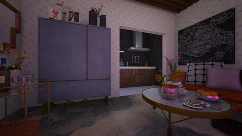 green - Bedroom - by NatalieH