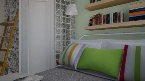 Nakagi Capsule Room 2 - Minimal - Bedroom - by xx_cordelia_xx