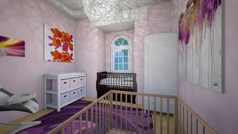 Pink Nursery - Kids room - by megan mccauley