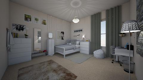 ikea room - by lovedae_parfait