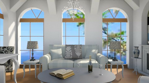 Cape Cod Home - Living room - by whodat1910