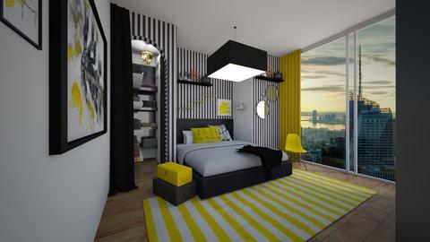 YBW - Bedroom - by BliNosif