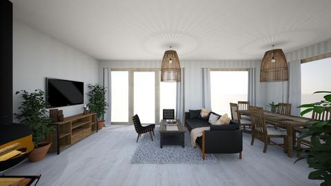 1 - Minimal - Living room - by Lenamider