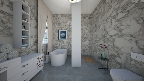 marble - Bedroom - by Dijana93