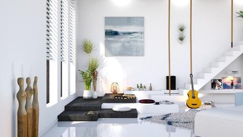 cea mai reusita casa  - Living room - by RebeIoni