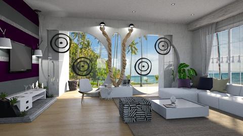 Modern Playful Living - Living room - by ZsuzsannaCs