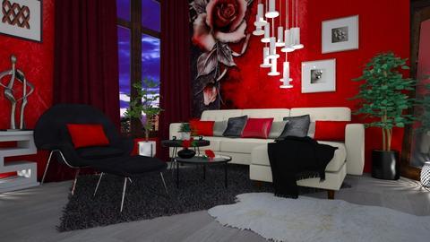 Template 2019 living room - Living room - by snjeskasmjeska