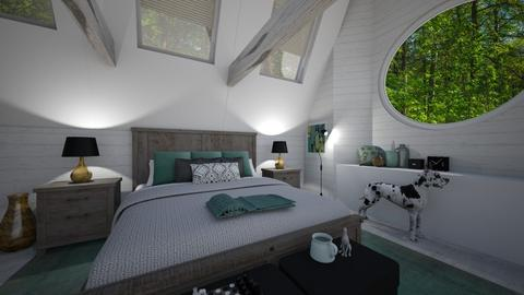 Bedroom with Ceiling L - Bedroom - by PenAndPaper