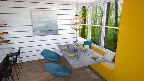 ARTISAN FLOORING 4 - Dining room - by Puppies44