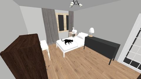 OBECNA SYPIALNIA 3 - Living room - by kassqqaa