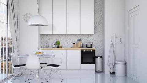 Modern Kitchenette - Modern - Kitchen - by HenkRetro1960