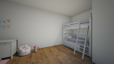 Twin room - Kids room - by ElsaofDesign