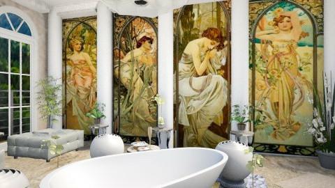 Bathroom - by Regina Egan