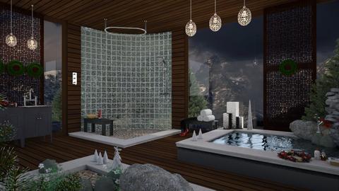 Christmas Bathroom - Modern - Bathroom - by mmehling
