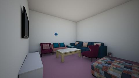 modern living room  - Modern - Living room - by aya abo elfetouh