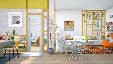 beautiful neighbor - Modern - Living room - by russ