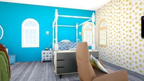 amelia - Feminine - Bedroom - by bov