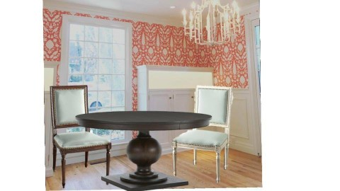 Dining Room v massoud - by littlewillowhome
